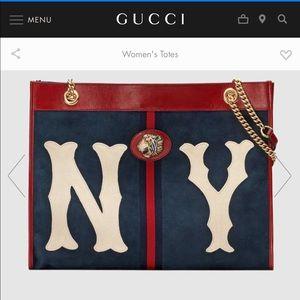 Gucci Bags - Gucci Rajah large NY tote